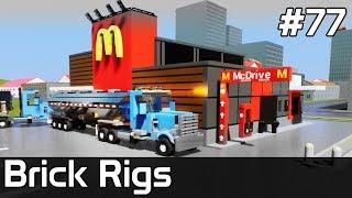 Brick Rigs PL [#77] McDonald & CYSTERNY w SLOW MOTION