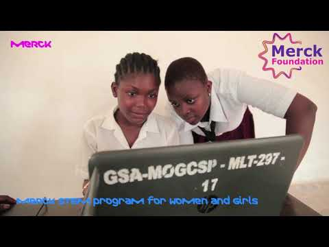 Merck Stem Program for Girls and Women, Liberia - Merck More Than A Mother