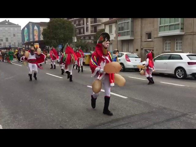 Desfile en Xinzo de Limia