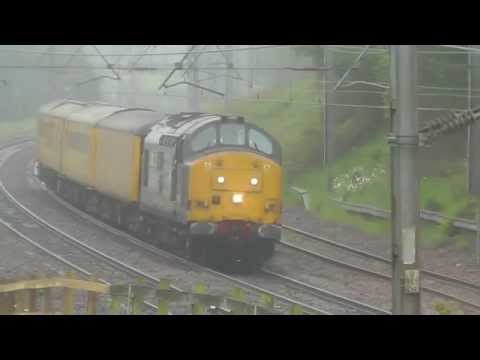 37667 3Q57 Longsight TMD - Carlisle Wapping Sidings Test Train, 20th June 2015