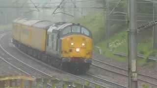 37667 3Q57 Longsight TMD - Carlisle Wapping Sidings Test Train, 20th June 2015