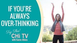How to get rid of vertigo and nausea - Qigong with Karen Atkins - Wild Goose Flies in the Air