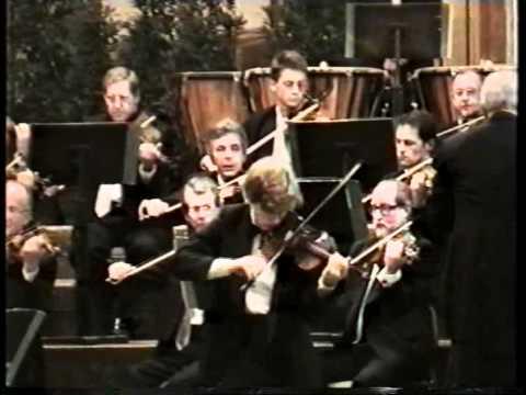 Johnny Gandelsman plays Sibelius Violin Concerto (1996)