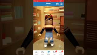 How do you make a ROBLOX preset outfit on mobile