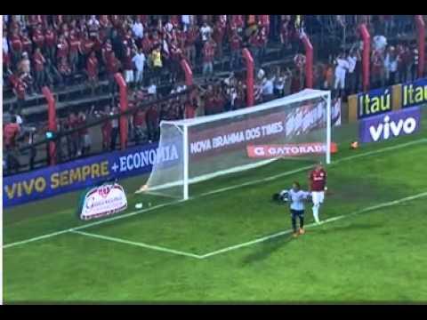 GOL de Renato De Falta ! Santos 2 x 1 Internacional - Brasileirão 2013 - 10/09/2013