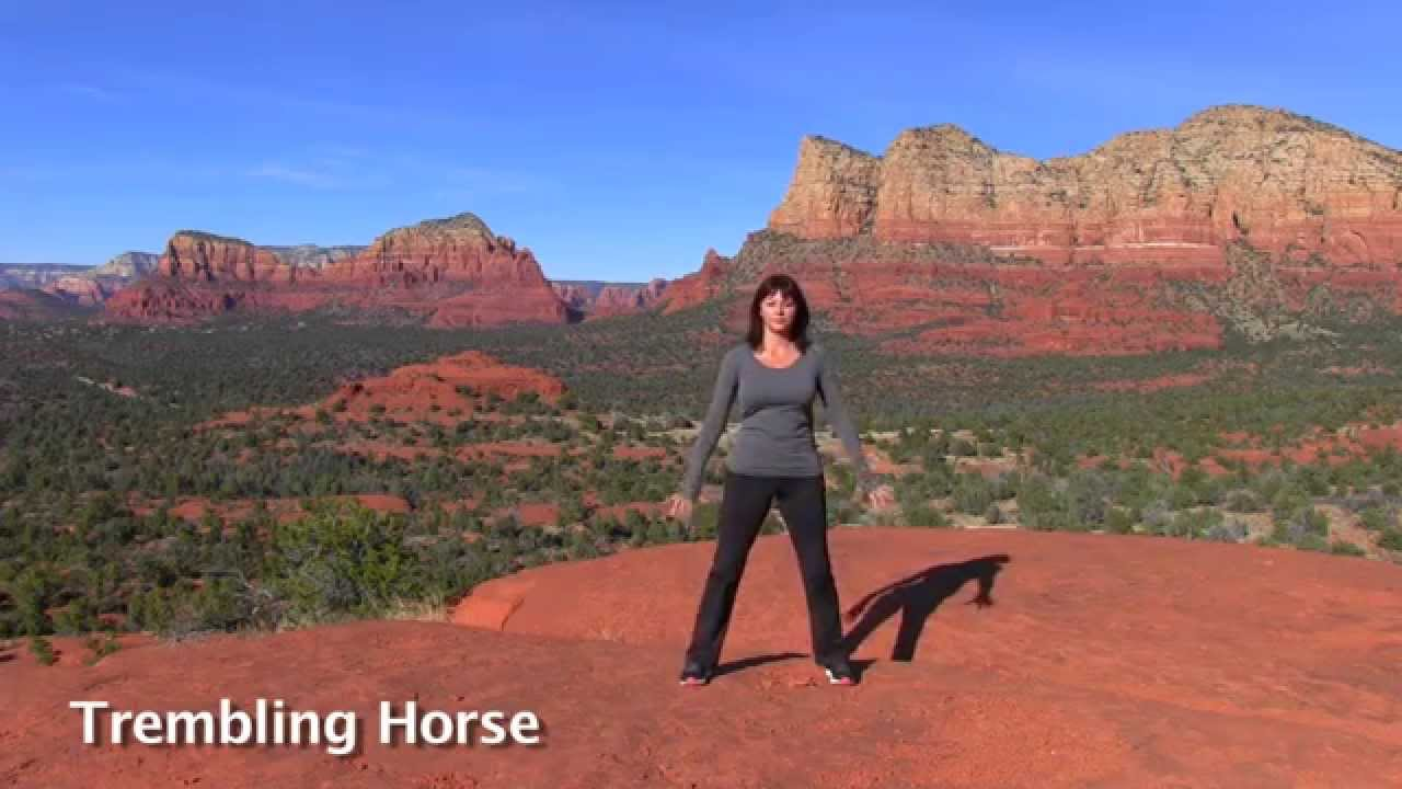 Trembling Horse Qigong Exercise