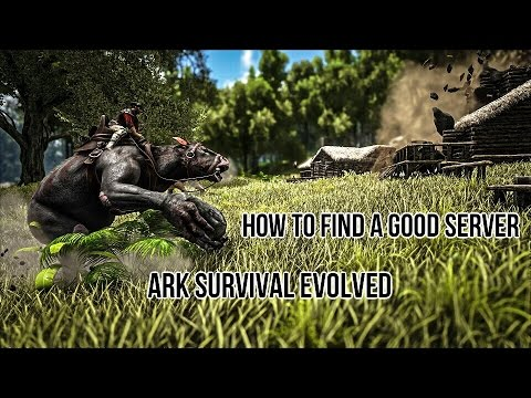Ark - How To Find A Good PvP Server ( Ark Survival Evolved ) Xbox and PC