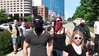 Antifa-duh thugs disrupt anti-sharia rally