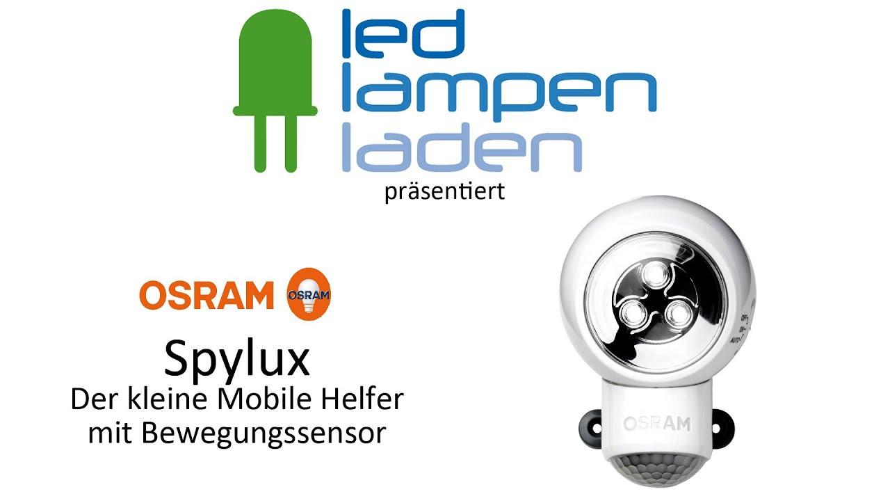 OSRAM LED Lampen | OSRAM Spylux - Mobile Helfer | Ihr LED ...