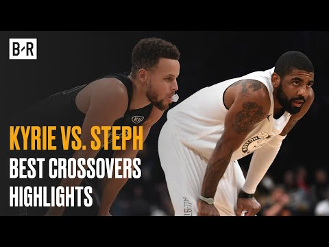 Kyrie And Steph Have The Ball On A String | Best Crossovers