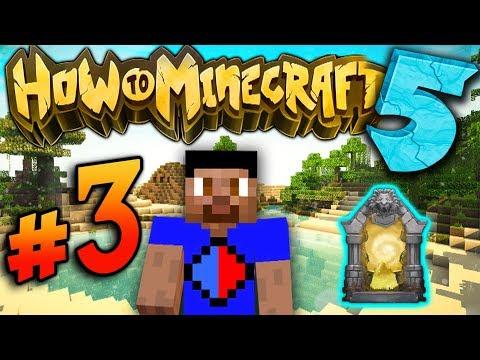DUNGEON RAIDING! - How To Minecraft S5 #3