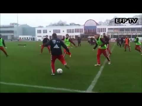 Bayern Munich Jeu de position 6 contre 6 2 avec des portes
