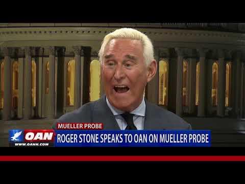Roger Stone speaks to OAN on Mueller probe