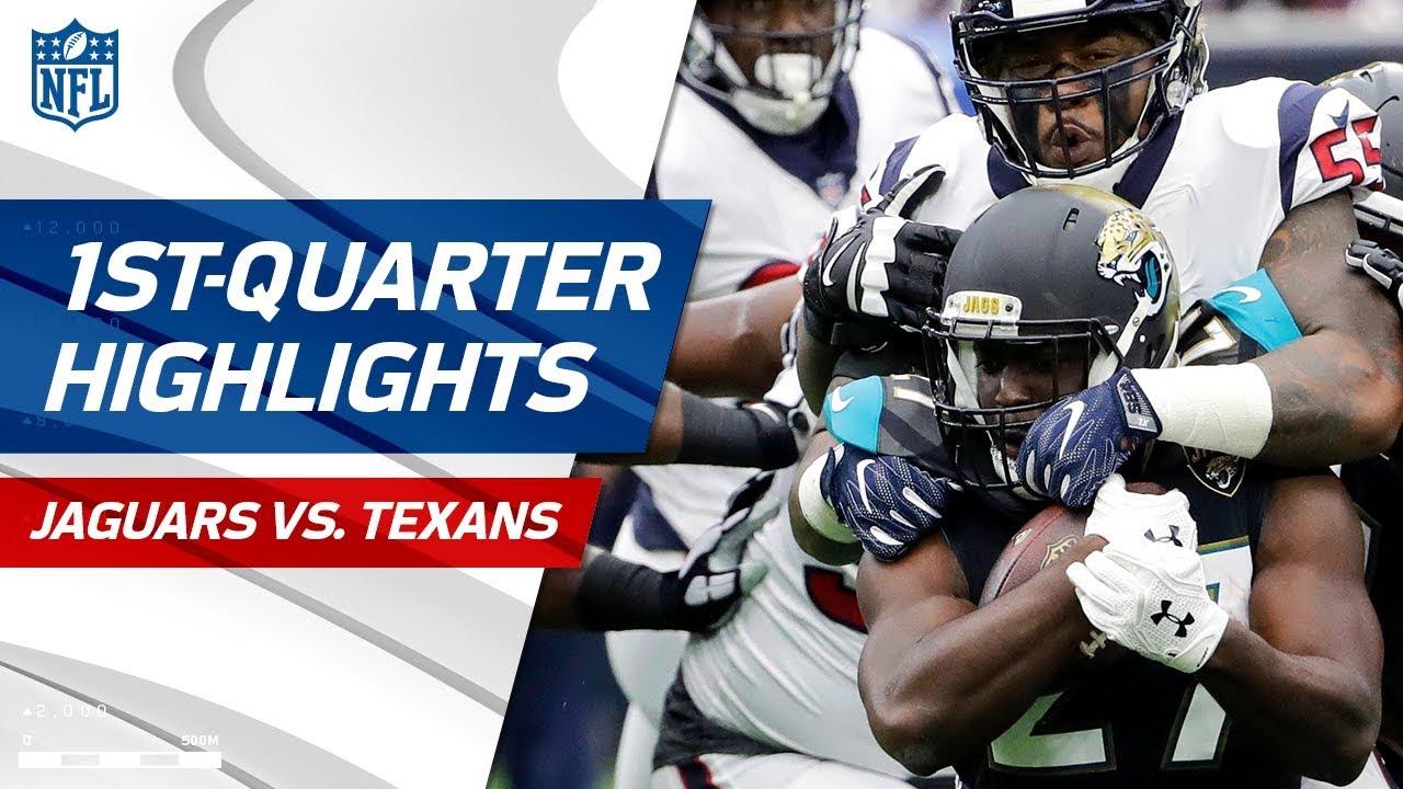 Jaguars Vs. Texans First Quarter Highlights | NFL Week 1