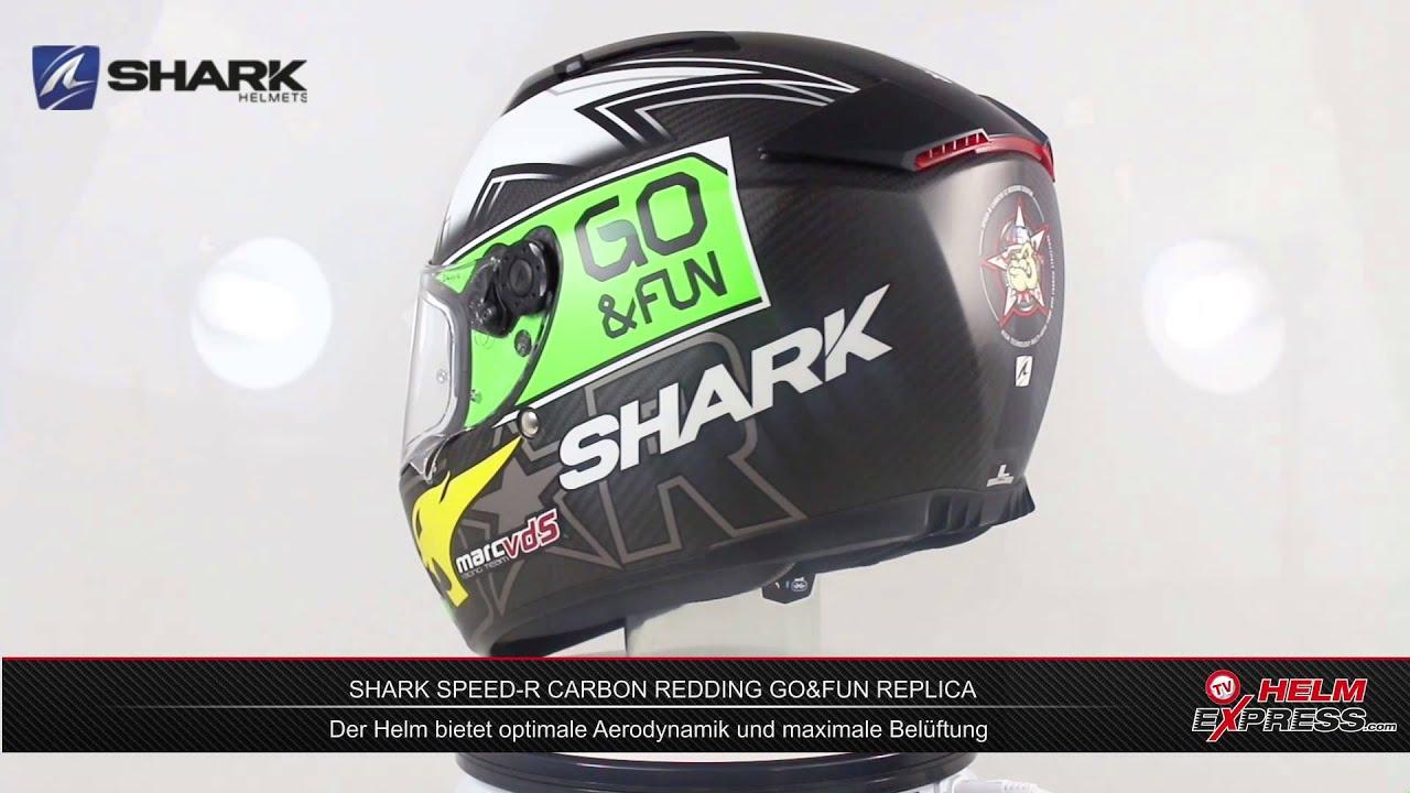 shark speed r carbon redding go fun replica youtube. Black Bedroom Furniture Sets. Home Design Ideas