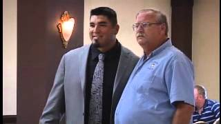 Roberto Garza Inducted Into Lone Star Conference Hall Of Honor