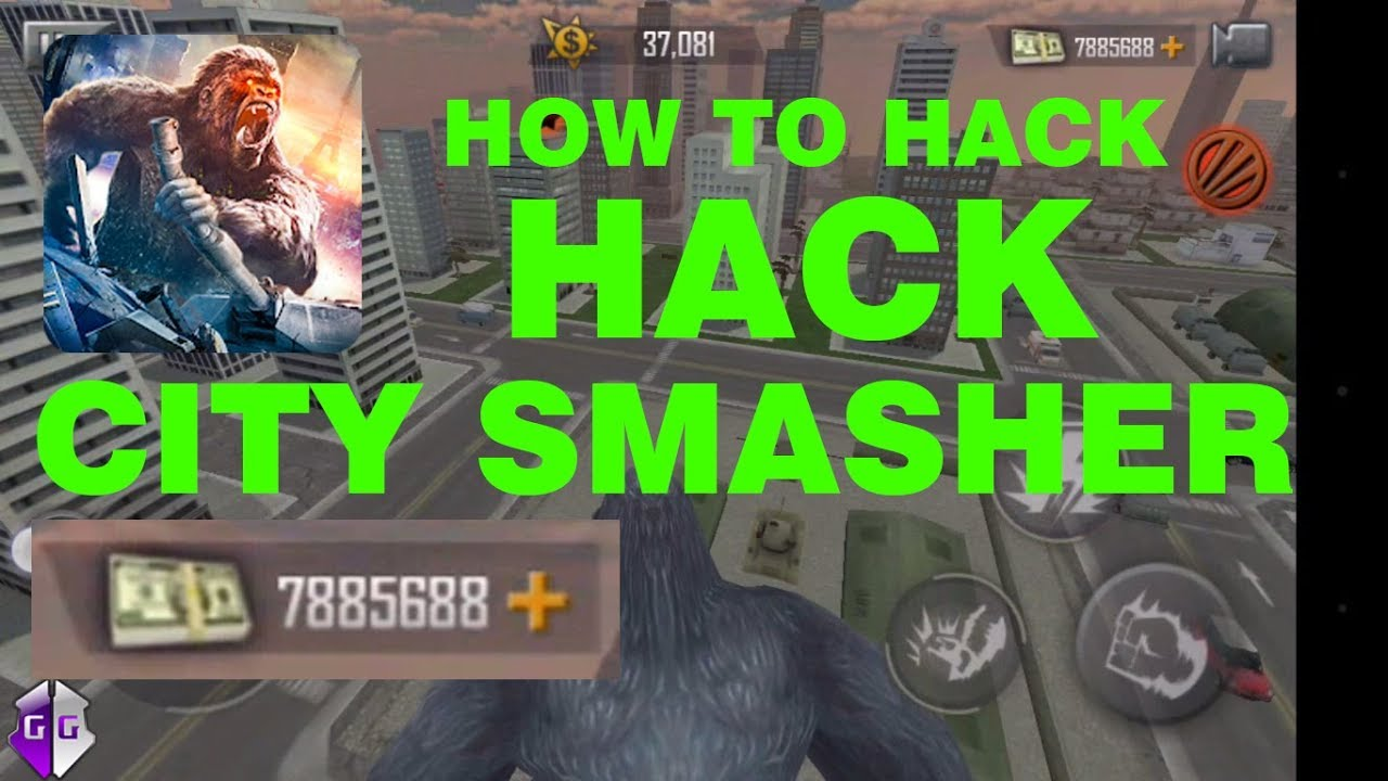 How to hack city smasher 2018 100% works - YouTube