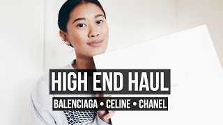 One of idressmyselff's most viewed videos: HIGH END HAUL - BALENCIAGA, CELINE AND CHANEL | IDRESSMYSELFF