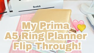My Prima A5 Ring Planner Flip Through | 2018-2019 | Planning With Eli