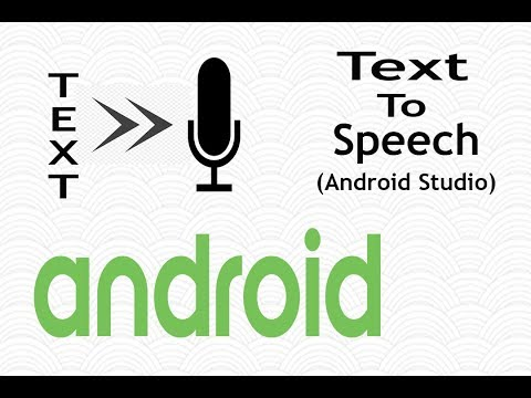 Text To Speech in Android Studio