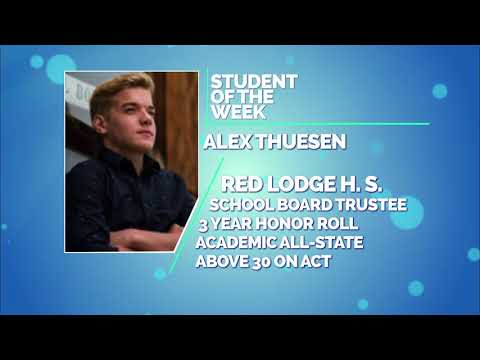 Student of the Week: Jesse Morgan Broom and Alex Thuesen of Red Lodge High School