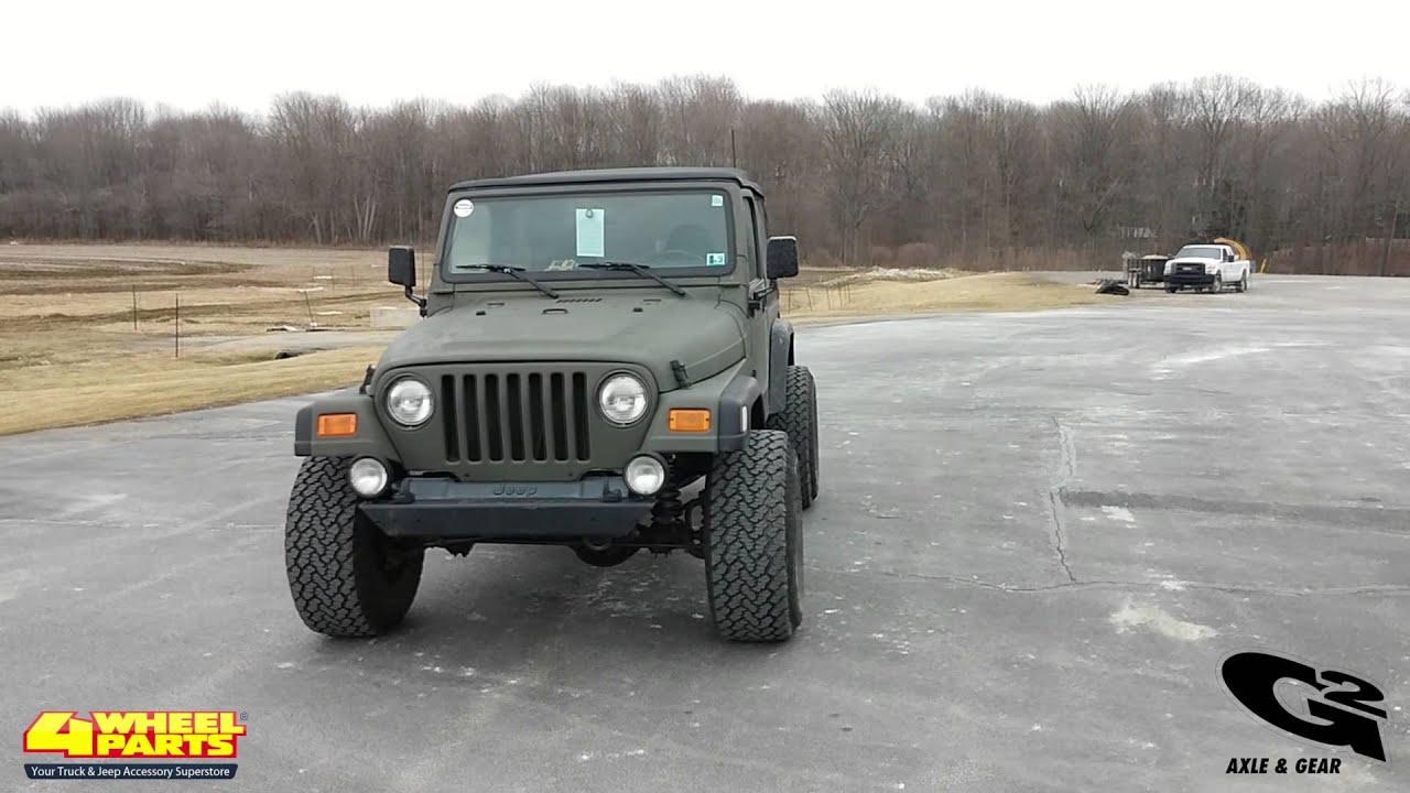 2001 jeep tj parts by 4 wheel parts
