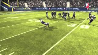 "Game Fails: Backbreaker ""Football on ice"""