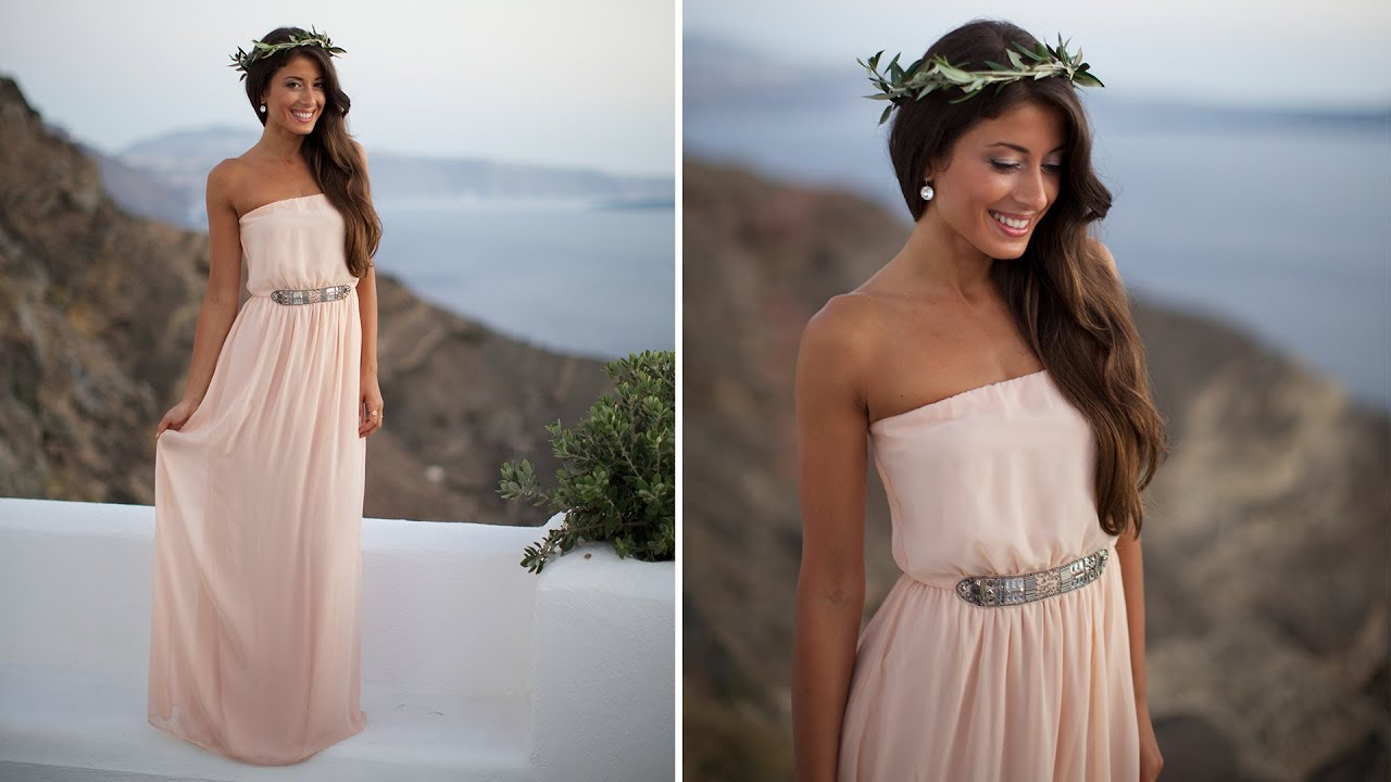 easy halloween costume greek goddess youtube