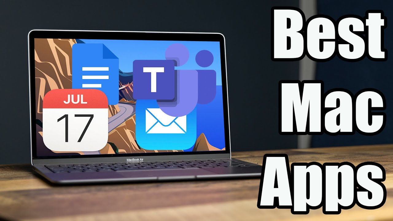 The MOST USEFUL Productivity Apps for the M1 MacBook Air! What's on My MacBook?!