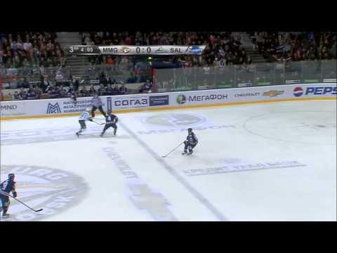 Василевский тащит после броска Мозякина в упор / Vasilevsky's tremendous save on Mozyakin