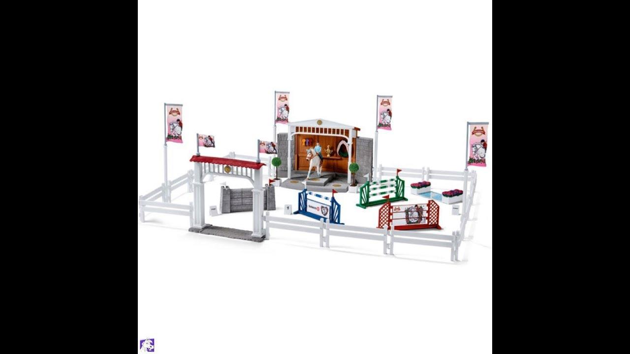 Schleich 2015 farm accessories youtube for Playmobil pferde set