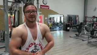 Oberkörper Training Fokus Rücken Ok/Uk Split