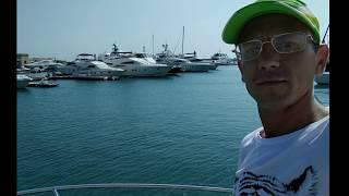 видео морская прогулка на яхте в Сочи