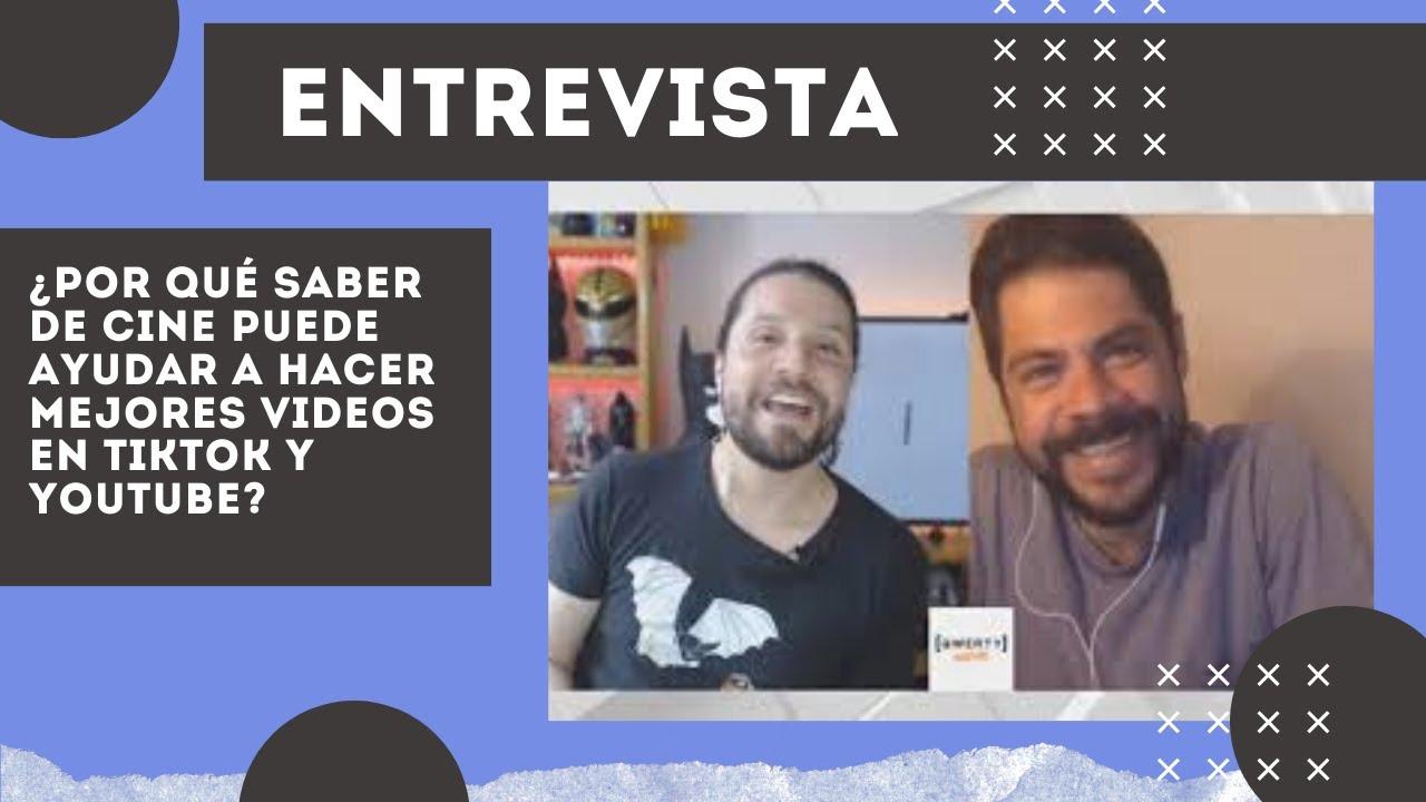 ¿Por qué saber de cine puede ayudar a hacer mejores videos en TikTok y YouTube? Con Edson Ramírez