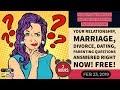 Dating Relationship Advice on Love Marriage Parenting Divorce Questions & Answers