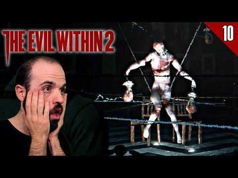THE EVIL WITHIN 2 #10 | OBRAS DE ARTE... GG | Gameplay Español