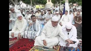أجواء صلاة عيد الفطر بمصلى مسجد ابي بكر الصديق بالحي العمالي بازغنغان
