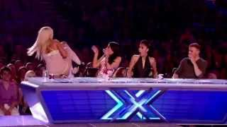 Girl i want to rape jury ! WTF?! X-Factor 2012