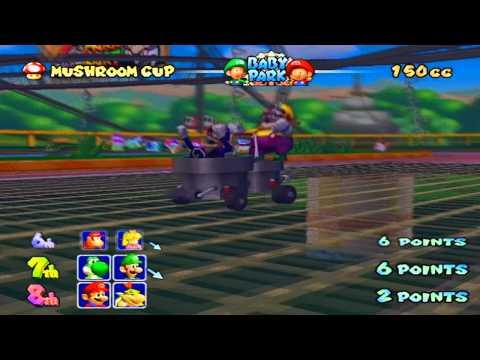 Wario & Waluigi Mario Kart Double Dash GamePlay!!
