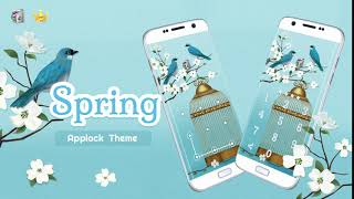 AppLock Live & Paid Theme Spring screenshot 1