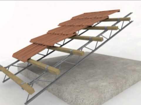 tettofacile tetto ventilato listello in legno youtube