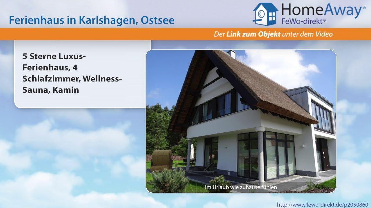 Usedom: 5 Sterne Luxus-Ferienhaus, 4 Schlafzimmer, Wellness-Sauna ...