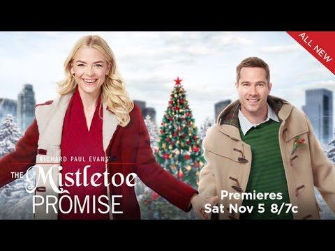 P  The Mistletoe Promise  Starring Jaime King and Luke Macfarlane  Hallmark Channel