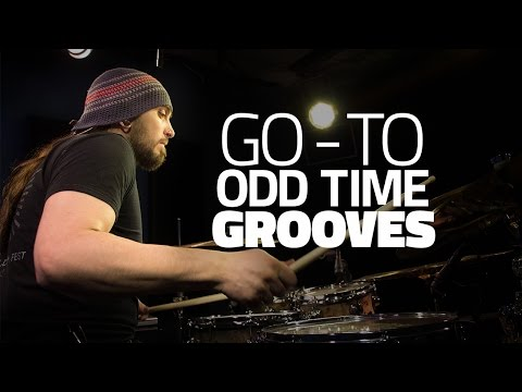 Go-To Odd Time Grooves with Aaron Edgar - Drum Lesson (Drumeo)