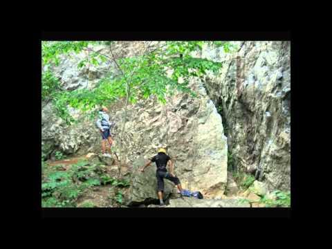 Skevik climbing