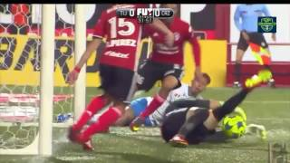 Xolos vs Cruz Azul 1-0 J4 CL 2017 Tv azteca HD