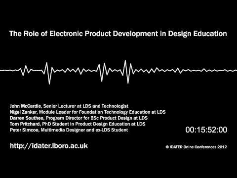 The Role of Electronic Product Development in Design Education [Podcast]