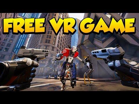 FREE Oculus VR Game - Robo Recall!