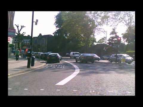 Crossing Fishponds Road, Bristol.