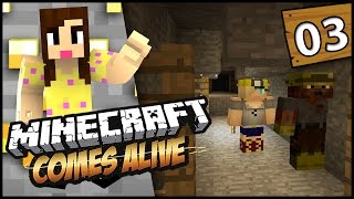 DIAMONDS FOR EVERYONE! - Minecraft Comes Alive 3 - EP 3